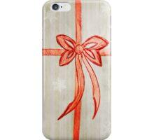 Bow (Snowflake Version) iPhone Case/Skin