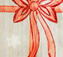 Bow (Snowflake Version) Sticker