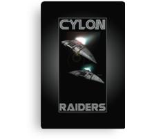 Cylon Raider Space Patrol Canvas Print