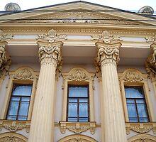 Palace Alferaki.Museum of Local History. Taganrog. Russia. by Vitta