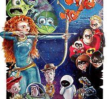 Pixar Jam by Brent Schreiber