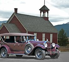 1929 Packard 640 Touring Car by DaveKoontz