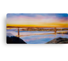 San Francisco Abstract Skyline Canvas Print