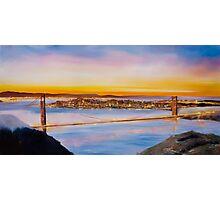 San Francisco Abstract Skyline Photographic Print