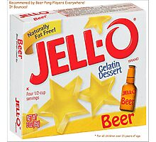JELL-O Beer Parody Photographic Print