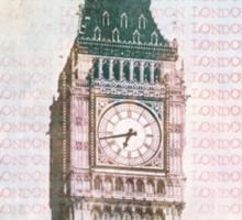 Elizabeth Tower Sticker