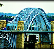 The McKees Rocks Bridge Pittsburgh PA. by BLAKSTEEL