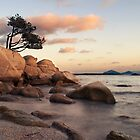 sardinian sunset  by redapple78
