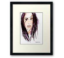 Kristen Stewart (Bella Swan) Poster Framed Print