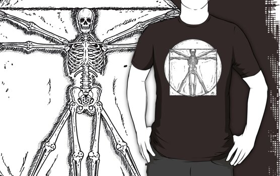 Vitruvian Skeleton by ZugArt