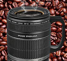TELESCOPIC LENS COFFEE CUP IPAD CASE by ╰⊰✿ℒᵒᶹᵉ Bonita✿⊱╮ Lalonde✿⊱╮