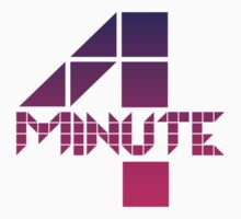 4minute Pink / Purple Gradient Logo by madiamondring