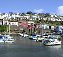 Brixham Harbour, Devon (2) by lezvee