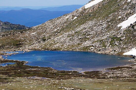 Cootapatamba Lake by Harry Oldmeadow