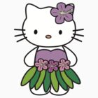 funny,cute hello kitty Hawaii T-Shirts & Hoodies Kids, Clothes,Stickers by boomer321sasha