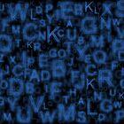Alphabet Blue by Colin Bentham