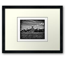 University Of Toronto - No 15 Kings College Circle Framed Print