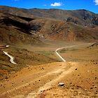 Desert Terrain Roadway by Jitesh Chauhan
