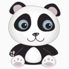cute panda by Carolynne