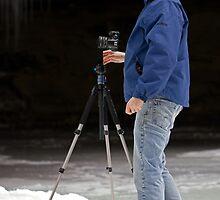 Ice Photographer by Lynn Gedeon