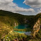 Plitvice lakes canyon by TGasparovic