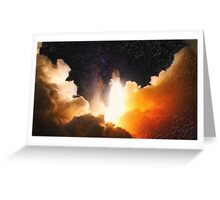 landscape  journey to unknown Greeting Card