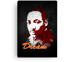 Martin Luther King, Jr. Canvas Print