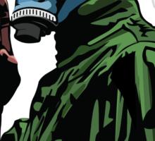 Dead Man's Shoes Comic Style Illustration Sticker