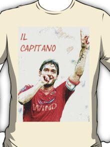 """Francesco Totti """"IL Capitano"""" ROMA T-Shirt"""