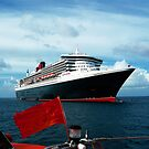 Queen Mary 2 by Thomas Barker-Detwiler