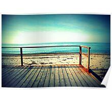 Sunny beach in a dream Poster