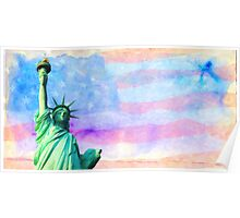 liberty usa art Poster