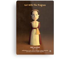 Ada Lovelace - Get With The Program Metal Print