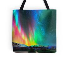 rainbow Aurora Borealis art2 Tote Bag
