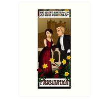 Downton Nouveau Art Print