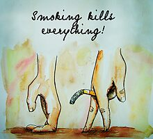 smoking kills everything art2 by Adam Asar