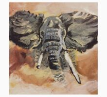 Elephant Art by Max Candy by annabelcandy