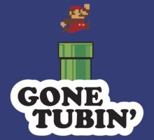 Mario Gone Tubin' by ctlart