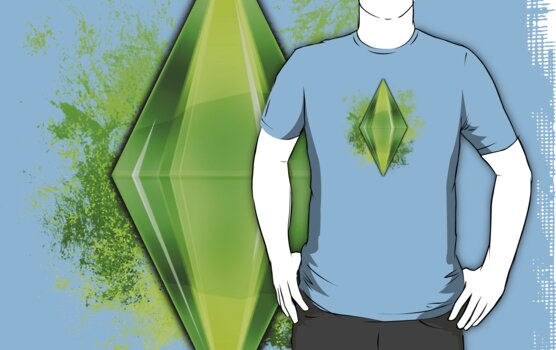 Green Plumbbob Grunge by Tracey Quick