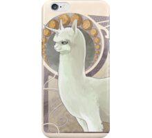 The Noble Alpacacorn iPhone Case/Skin