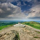 Malvern Hills : On top of the Shire by Angie Latham