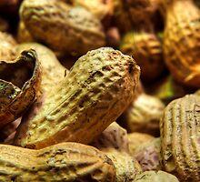 Peanuts Close Up by Timothy Borkowski