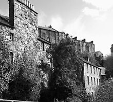 Edinburgh Elegy, Dean Village ~ For Oxley by artwhiz47
