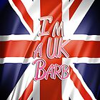 """I'm a UK Barb"" iPhone Case by MarajMagazine"