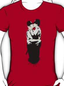 Kissing Coppers T-Shirt