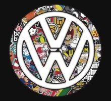 VW Stickerbomb by Barbo