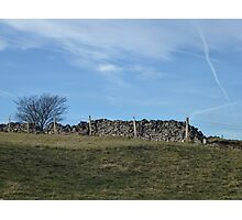 Dry Stone Wall - Middleton Moor #3 Photographic Print