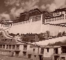 Potala Palace, Lhasa by Jan Vinclair