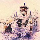 sports   Dallas Clark  NFL  Indianapolis Colts by Adam Asar