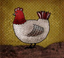 Carla the Hen by Rencha